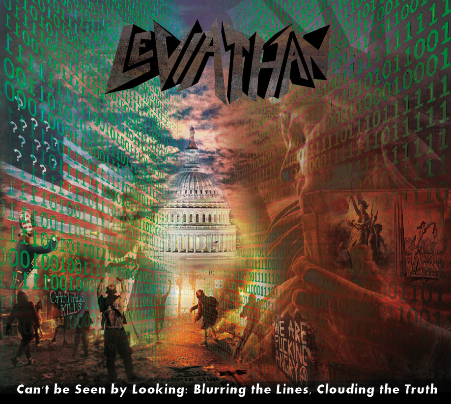 LEVIATHAN - Can't be Seen by Looking: Blurring the Lines, Clouding the  Truth (Digi-CD)